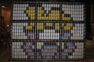Keith Haring canstruction#6 | by Matias3000