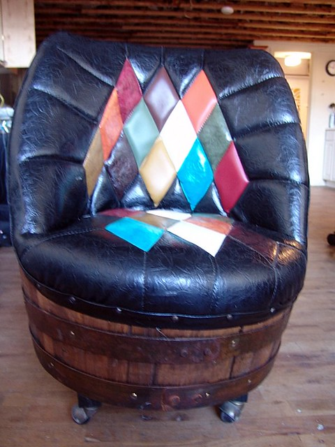Antique Beer Barrel Chairs And Table For Sale Antique