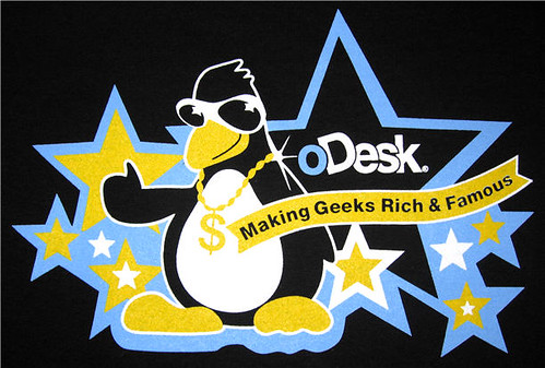 oDesk t-shirts: all about the bling, G. | by davemc500hats