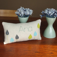 Pillow for my friend Ana | by Geninne