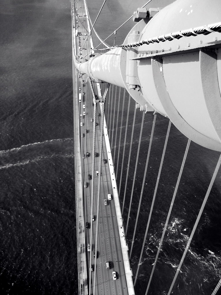 Golden Gate Bridge South Tower | My brother-in-law used to ...