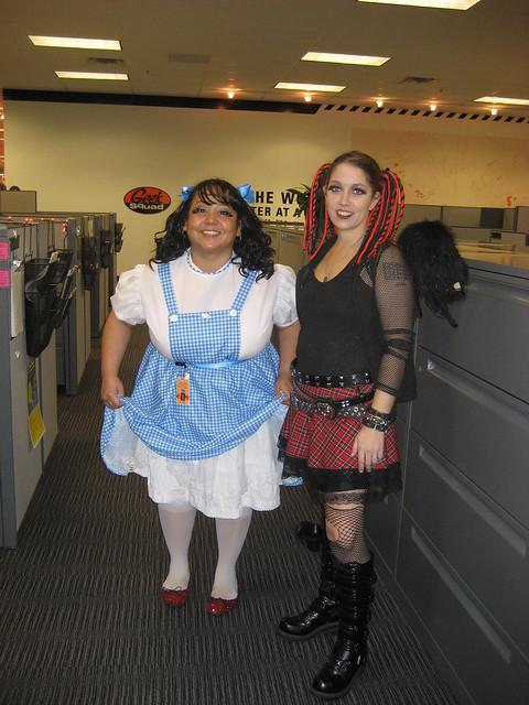 Frances & Kat @ Geek Squad City | Halloween at Geek Squad Ci… | Flickr