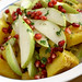 pear and winter squash salad