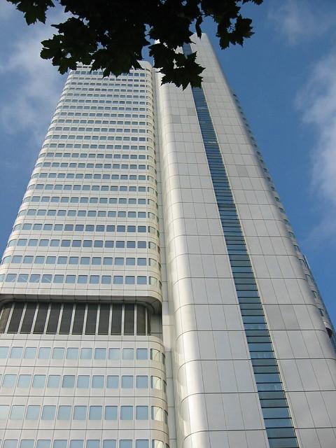 Silver Tower Dresdner Bank Abb Architekten Frankfurt A Flickr