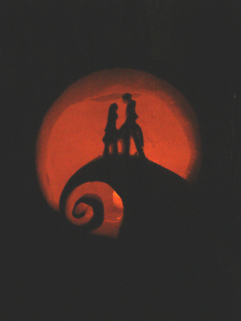 Nightmare Before Christmas Pumpkin Lit | My nightmare before… | Flickr