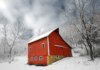 Little Red Barn | by www.toddklassy.com