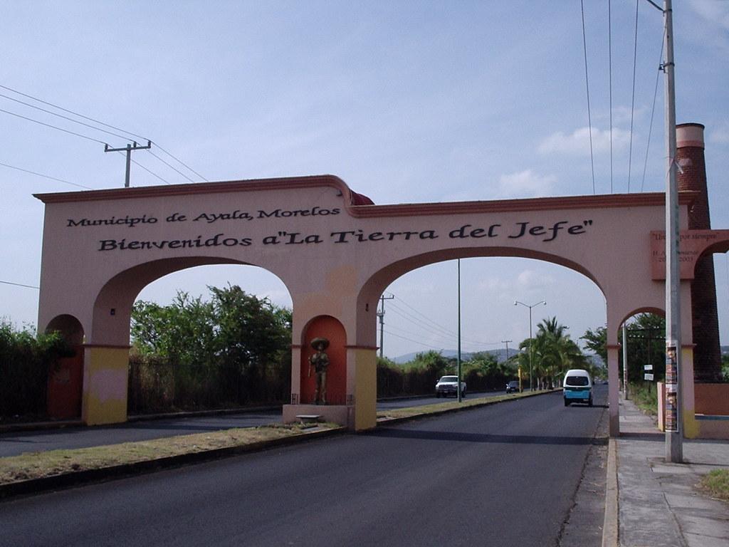 Arco   Entrada al Municipio de Ayala, Morelos, Mexico ...