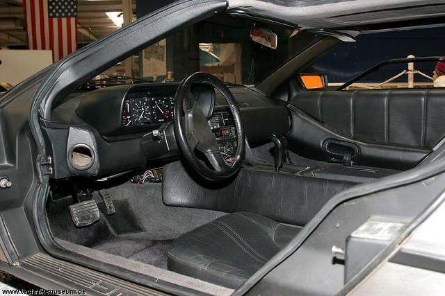 delorean von innen delorean auto technik museum sinshe museum sinsheim flickr. Black Bedroom Furniture Sets. Home Design Ideas