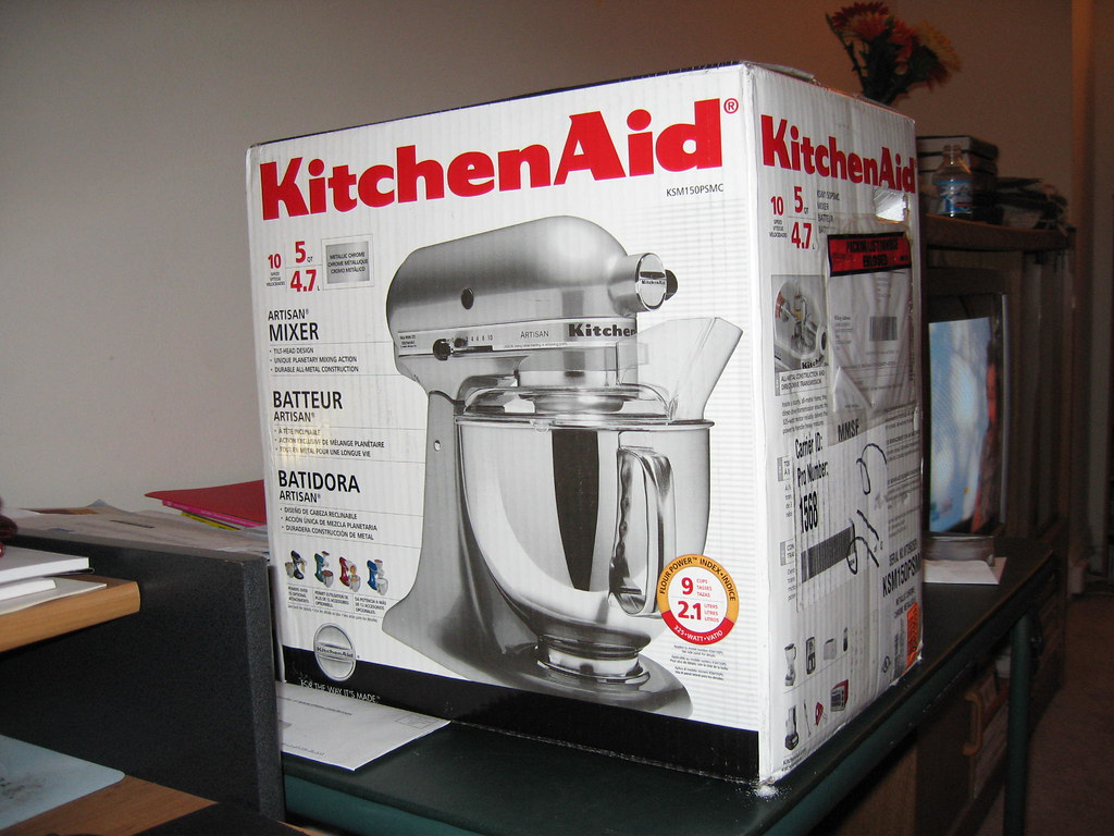 My Beautiful Chrome Kitchenaid Artisan Stand Mixer *sigh* | Flickr
