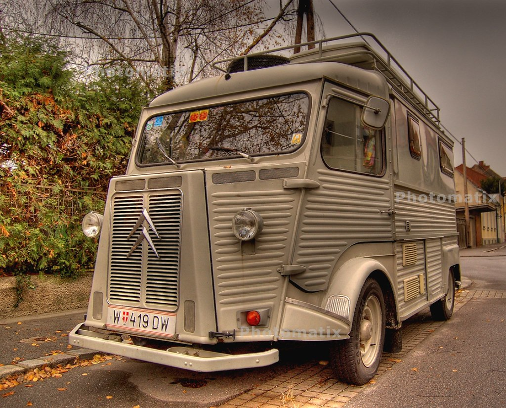 old citroen type h seen in korneuburg lower austria au gerhard flickr. Black Bedroom Furniture Sets. Home Design Ideas