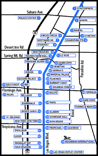 Las Vegas Strip Hotels Las Vegas Strip Hotels Flickr - Las vegas map of hotels