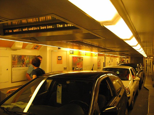 le shuttle eurotunnel inside a eurotunnel carriage cars flickr. Black Bedroom Furniture Sets. Home Design Ideas