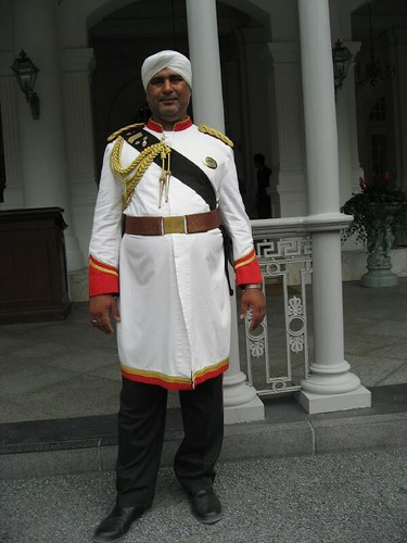 ... Indian door steward at Raffles Hotel | by Vueltaa  sc 1 st  Flickr & Indian door steward at Raffles Hotel | Vueltaa | Flickr