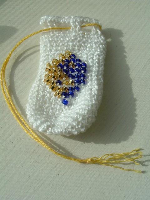 Free Crochet Pattern Yin Yang : yin/yang crochet bag a litlte mojo bag I made ...