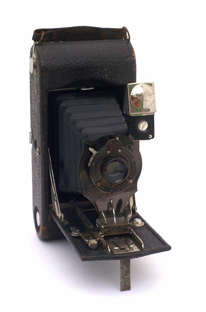No 1a Folding Pocket Kodak Model D Manufactured Between
