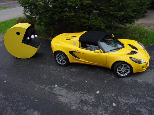 Pacman and the Lotus Elise | by The Pug Father