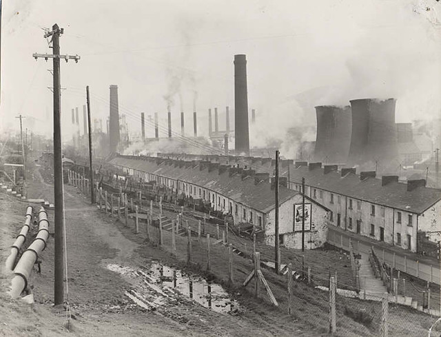 quotebbw vale steelworks c19th workers housingquot image