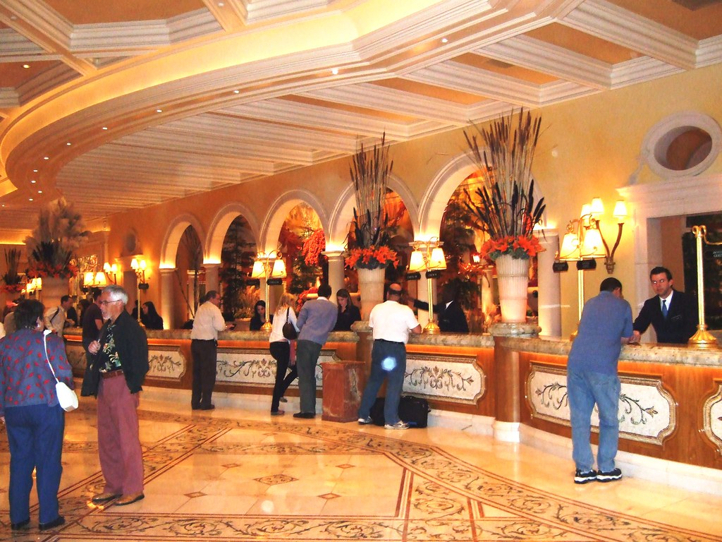... Bellagio Front Desk | By Ms. Melch