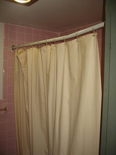 shower curtain not a chin up bar