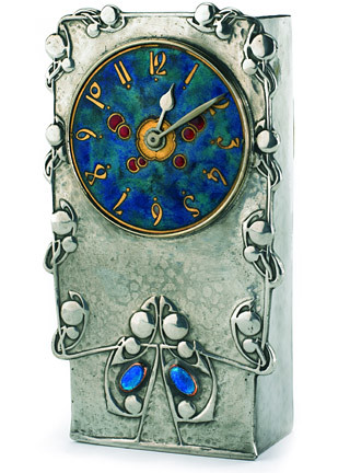 Archibald knox tudric clock from liberty 39 s 2005 sale for Arts and crafts clocks for sale