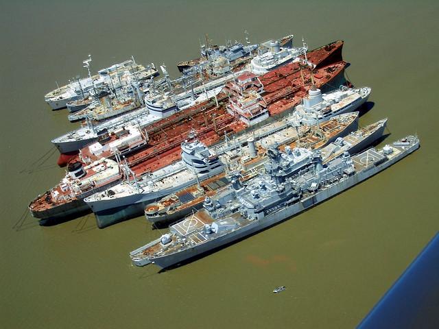 Mothball Fleet Suisun Bay California Suisun Bay Is A U