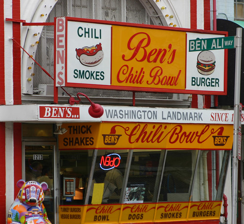 Ben's Chili Bowl, U St NW | by dbking