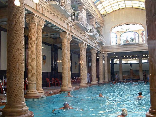 Gellert budapest ba os en el hotel gell rt gell rt gy gyf flickr - Banos budapest ...