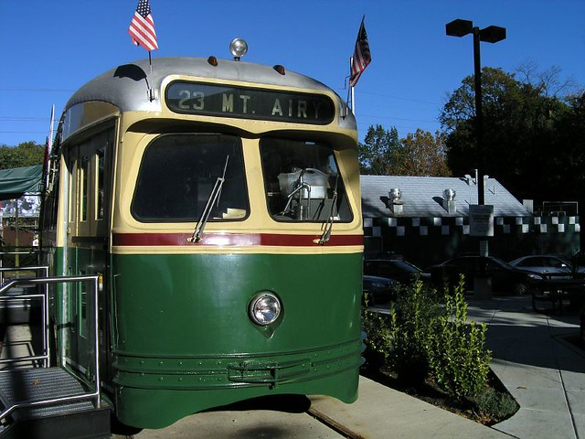 Trolley Car Diner's Ice Cream Parlor