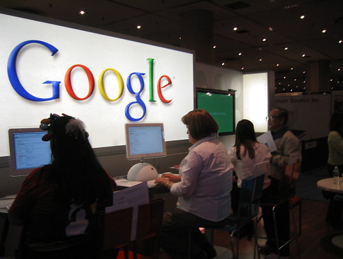 BEA Google booth | by James Marcus