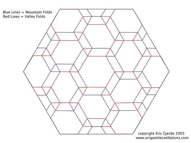 Spread Hexagon Tessellation PDF available!   OK, I got on a …   Flickr