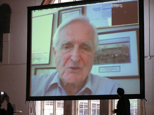 Doug Engelbart on video from Calif. | by TonZ