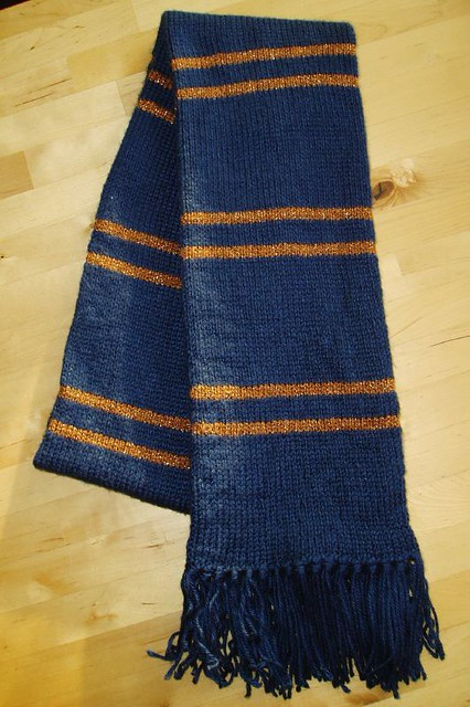 Ravenclaw Scarf Caron Simply Soft Dark Country Blue Lion Flickr