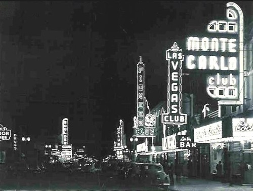 Main To 1st Street 1940 S Las Vegas Quot Frasher Foto