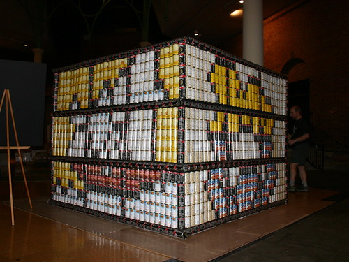 Keith Haring canstruction#9 | by Matias3000