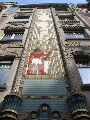 Interesting Egyptian Art Deco Architecture Unfortunately