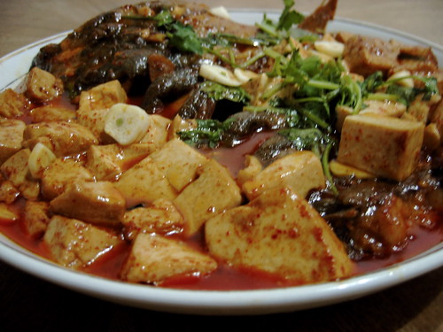 Fish with spicy tofu - Shangzhi | by Alexandra Moss