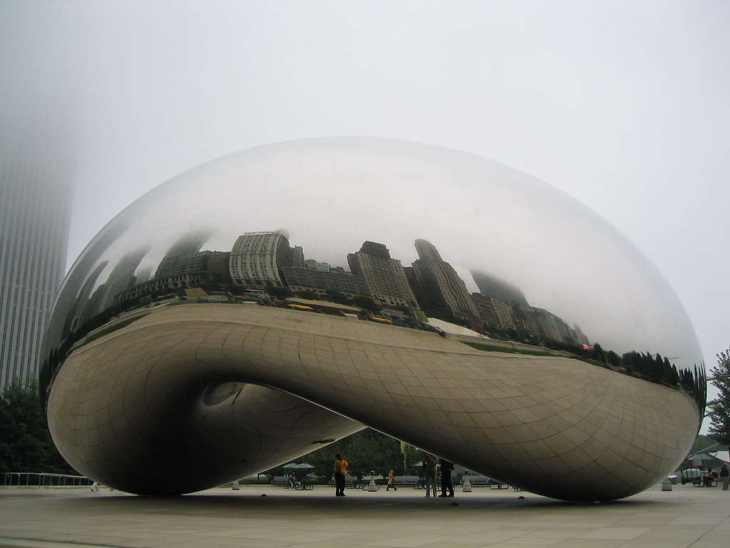 What Is Stainless Steel Made Of >> Cloud Gate in Chicago   From www.millenniumpark.org ...