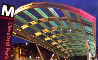 Metro Canopy just after dusk | by billadler