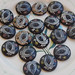 vintage wooden buttons from ilse