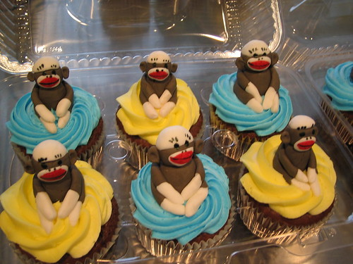 Monkey Cakes And Cupcakes