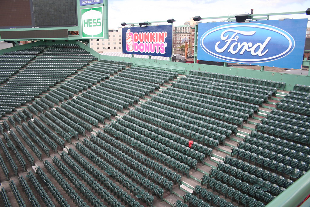 The Lone Red Seat The Lone Red Seat In Fenway Park