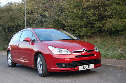2005 citroen c4 coupe vts small pic of our wicked red. Black Bedroom Furniture Sets. Home Design Ideas