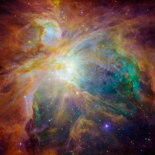 Orion Nebula - new image from Hubble & Spitzer | by Mr. Physics