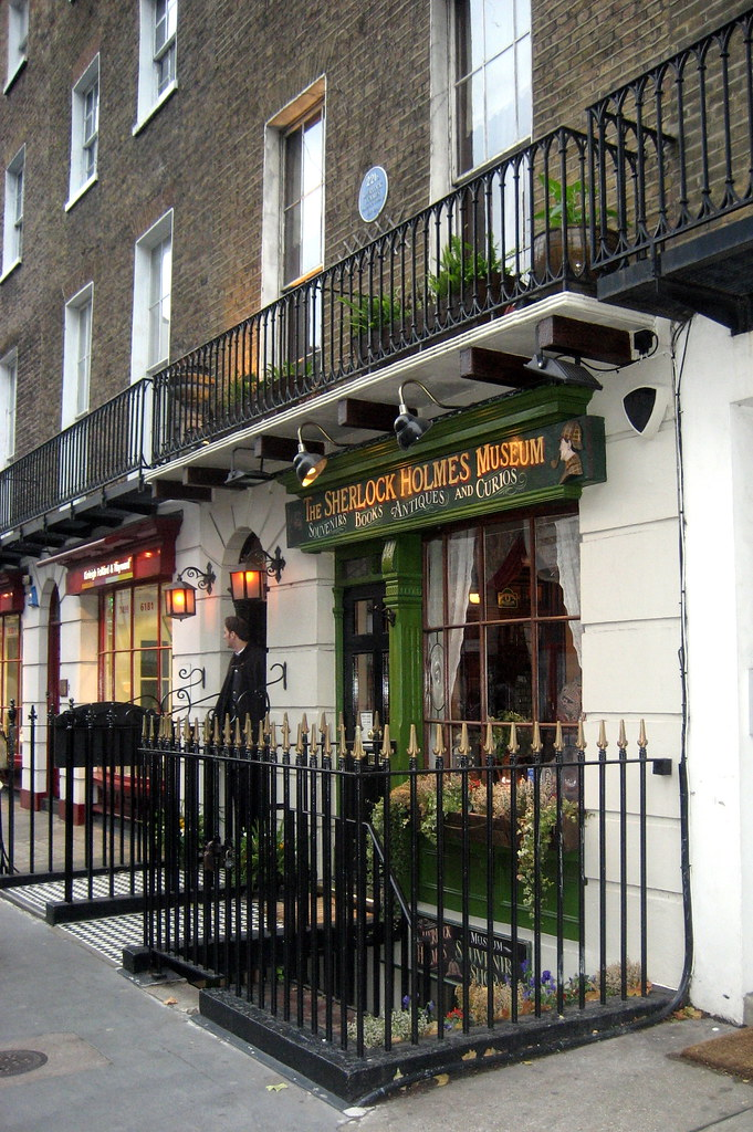 Uk London Marylebone Sherlock Holmes Museum Sir