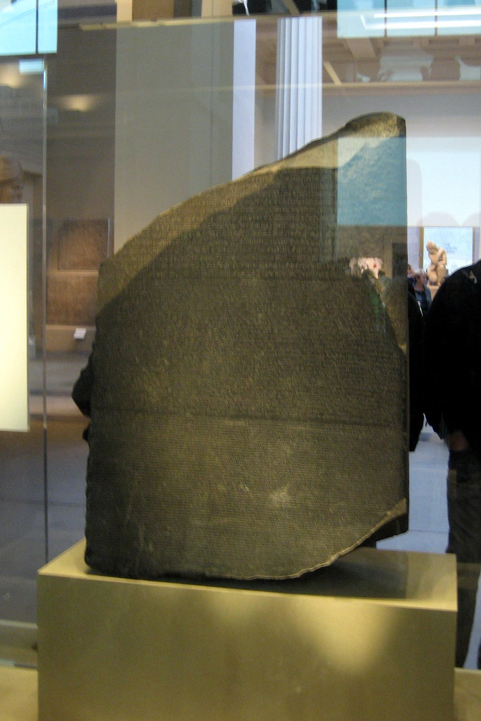 Uk London Bloomsbury British Museum Rosetta Stone