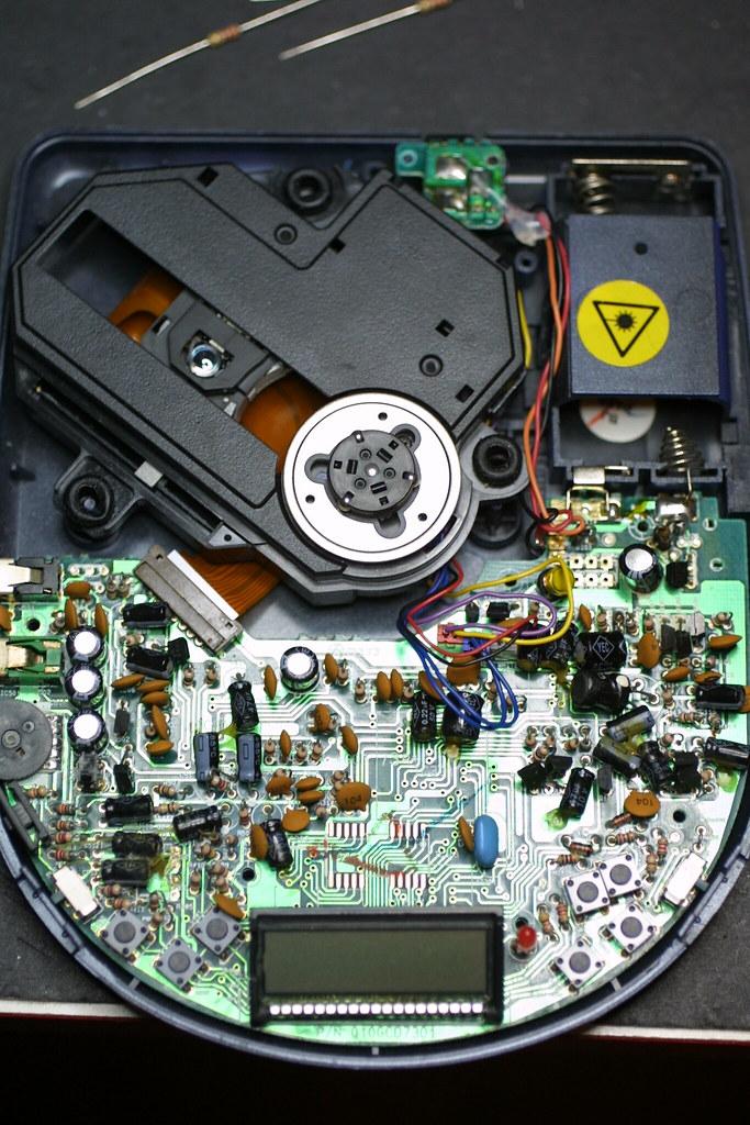 Broken cd player