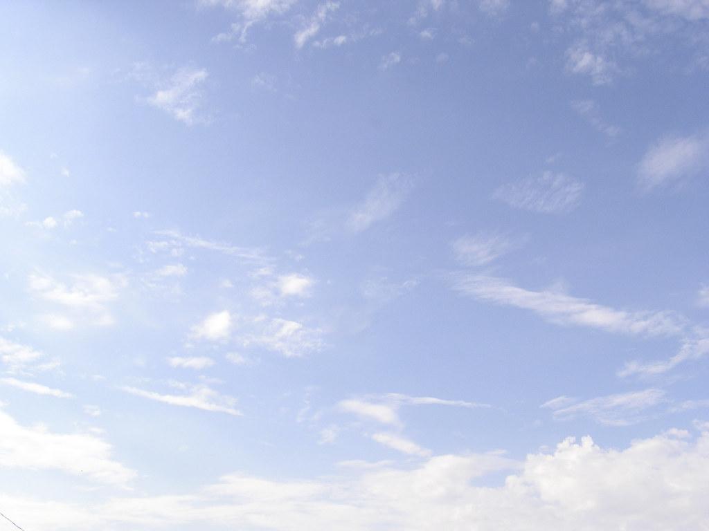 Light Blue Sky With Clouds  |Light Blue Sky Clouds