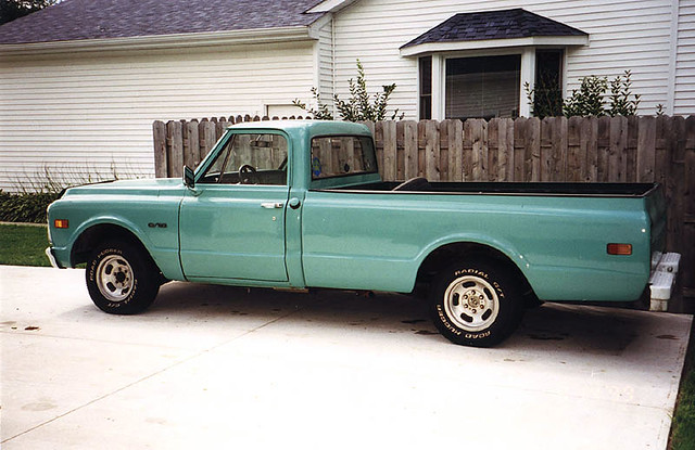 '69 Chevy C10 Mint | My old truck from high school... some ...
