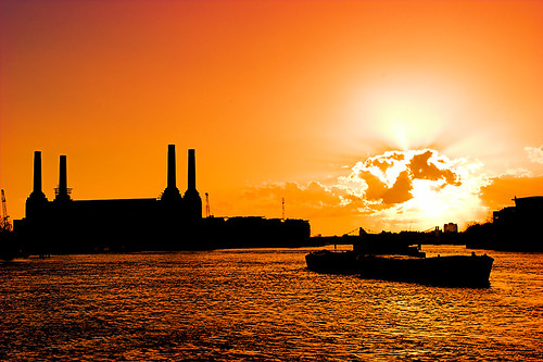 Battersea Power Station at Sunset | by kayodeok