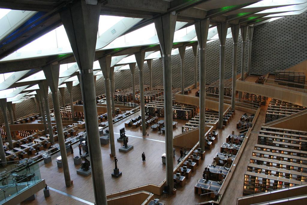 Biblioteca de Alejandría.